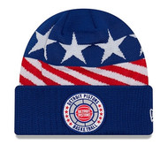 New Era Detroit Pistons Tip Off Beanie Knit