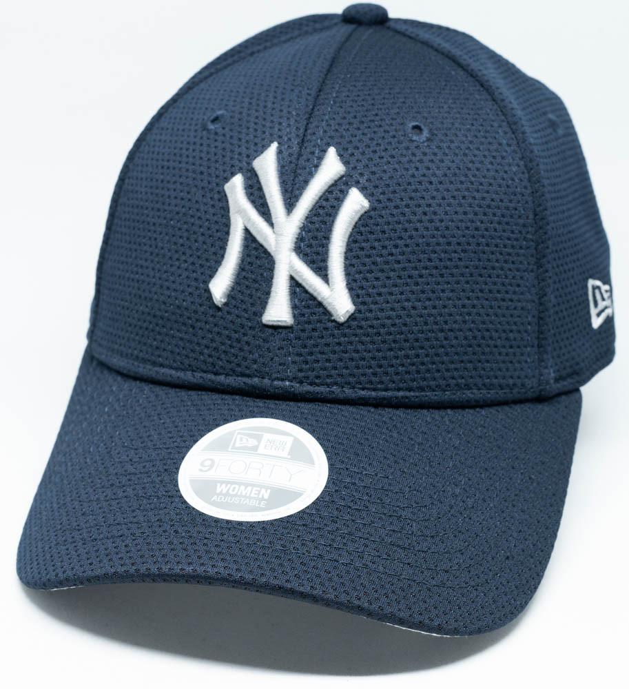 0f4dbfea49b New Era 9Forty New York Yankees Navy Mesh Womens Cap