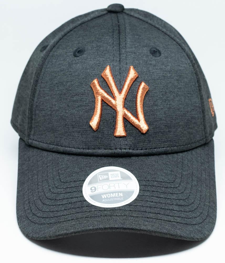 f265e678795 New Era 9Forty New York Yankees Tech Shadow Womens Cap Black