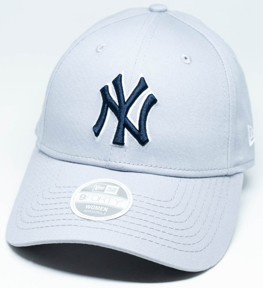 9a7aa2116 New Era 9Forty New York Yankees Womens Cap Grey