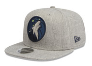 New Era 9Fifty Minnesota Timberwolves Heather Grey Cap