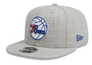 New Era 9Fifty Philadelphia 76ers Heather Grey Cap