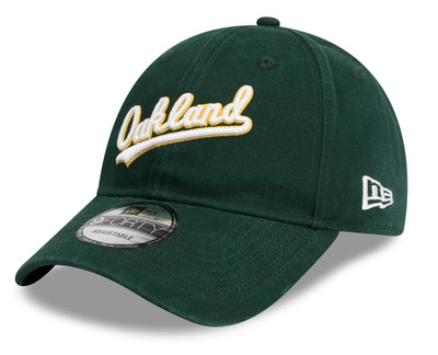 New Era 9Forty Oakland Athletics Green Cap