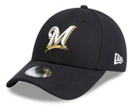 New Era 9Forty Milwaukee Brewers Heather Navy Kids Cap