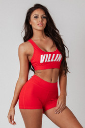 Signature Sports Bra Red