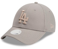 New Era 9Forty Los Angeles Dodgers Grey Ladies Cap
