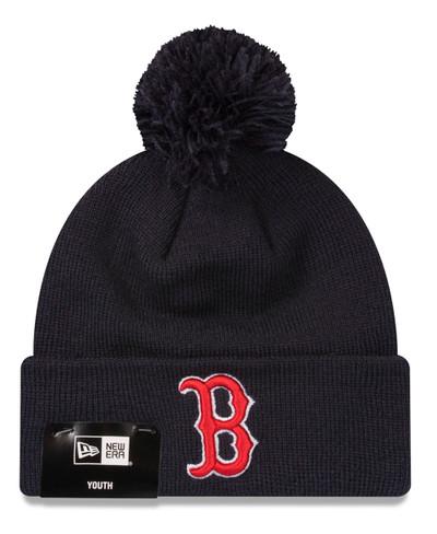 New Era Boston Red Sox Knit Beanie Kids