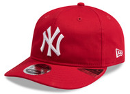 New Era 9Fifty New York Yankees Base Cap Red