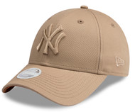 New Era 9Forty New York Yankees Cap Camel Ladies