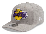 New Era 9Fifty LA Lakers Heather Grey Cap L/XL