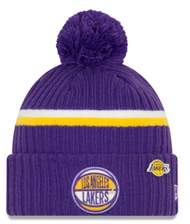 New Era LA Lakers Draft Series Beanie