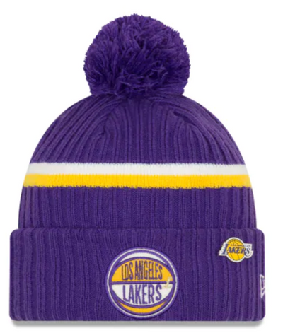New Era LA Lakers Draft Series Beanie