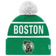 New Era Boston Celtics Pom Beanie