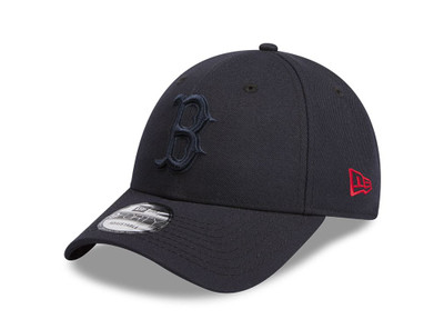 New Era 9Forty Boston Red Sox Navy Red Logo Cap