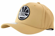 Mitchell & Ness Golden State Warriors Wheat 110 Snapback