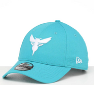 New Era 9Forty Charlotte Hornets Cap Youth Blue