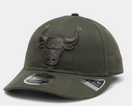 New Era 9Fifty Chicago Bulls Retro Crown Olive