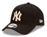 New Era 9forty New York Yankees Black Olive AFrame