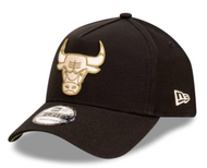 New Era 9forty Chicago Bulls Black Olive AFrame