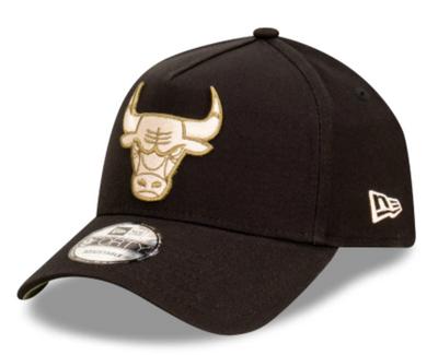 New Era 9forty Chicago Bulls Black Olive AFrame