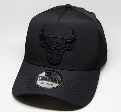 New Era 9Forty Chicago Bulls Black Cap