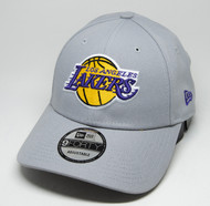 New Era 9Forty Los Angeles Lakers Grey Cap