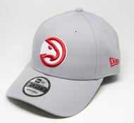 New Era 9Forty Atlanta Hawks Grey Cap