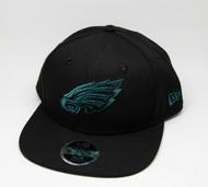 New Era 9Fifty Philadelphia Eagles Youth Cap Black