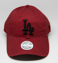 New Era 9Forty Los Angeles Dodgers Ladies Cap Wine