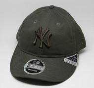 New Era 9Fifty New York Yankees Retro Crown Cap Olive