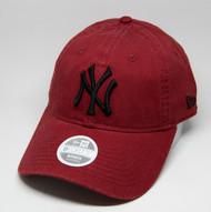 New Era 9Forty New York Yankees Ladies Cap Wine