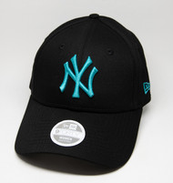 New Era 9Forty New York Yankees Ladies Black Cap