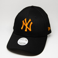New Era 9Forty New York Yankees Ladies Black Orange Cap