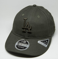 New Era 9Fifty Los Angeles Dodgers Retro Crown Olive Cap