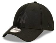 New Era 39Thirty New York Yankees Stretch Fit Black Cap