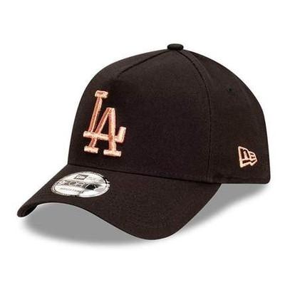 New Era 9Forty Los Angeles Dodgers AFrame Black Ladies Cap