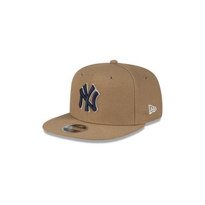 New Era 9Fifty New York Yankees AFrame Khaki Cap