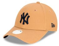 New Era 9Forty New York Yankees Ladies Camel Cap 12529582