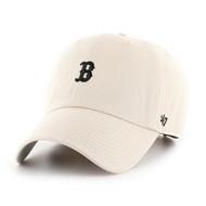 '47 New Boston Red Sox Bone Base Runner Clean Up Cap