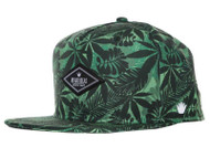 No Bad Ideas Jungle Leaf Green Cap