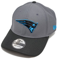New Era 39Thirty Neon Pop New England Patriots Cap L/XL
