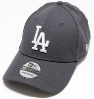 New Era 39Thirty Season Fit New Los Angeles Dodgers Cap Graphite