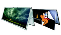 Monsoon Outdoor Billboard Sign - Double Sided