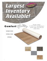Comfort Flex - 10' x 10' Vinyl Flooring - Wood Collection