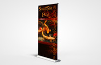 Scroll Slot Dual 1000 Retractable Banner Stand