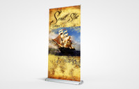 Scroll Slot 1000 Retractable Banner Stand