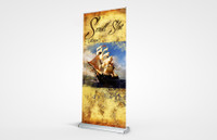 Scroll Slot 850 Retractable Banner Stand