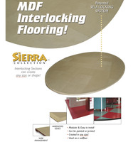 Sierra - 10' x 10' MDF Flooring / Subflooring