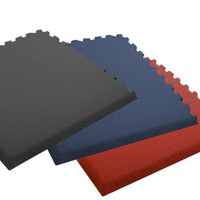 Plush Comfort Carpet - 20' x 20' Interlocking Carpet Tiles (with Beveled Edges)