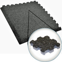 Plush Comfort Carpet - 10' x 10' Interlocking Carpet Tiles